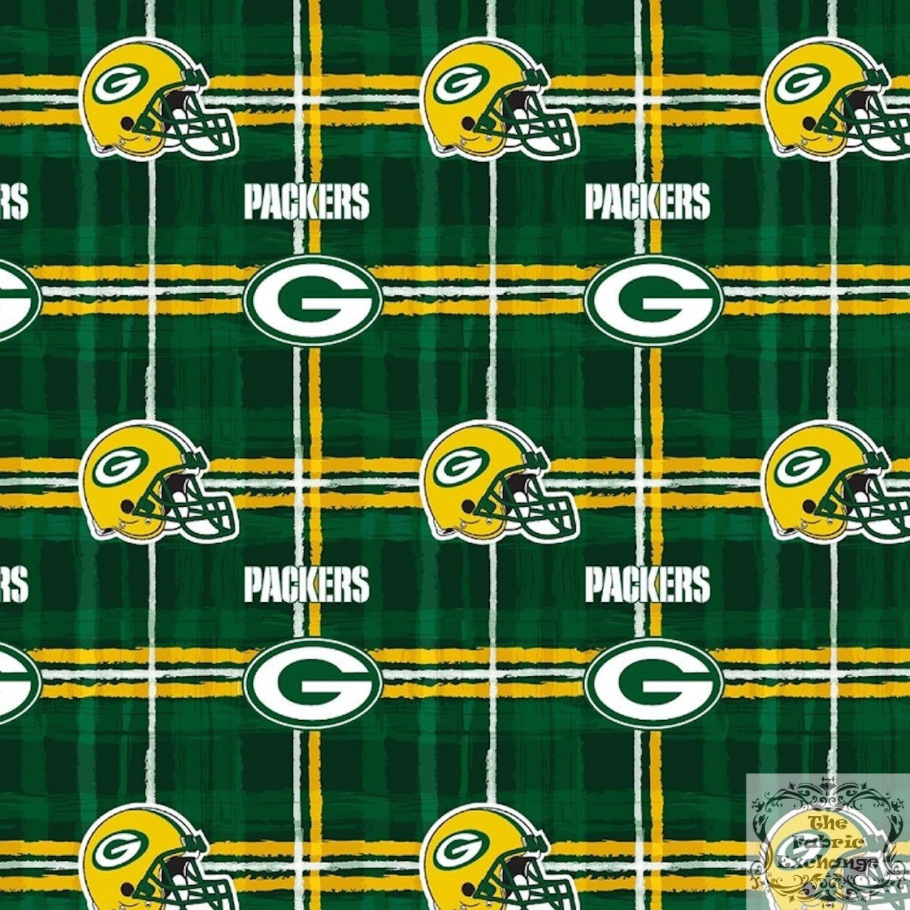 FT-NFL Flannel L6427-D GreenBay Packers