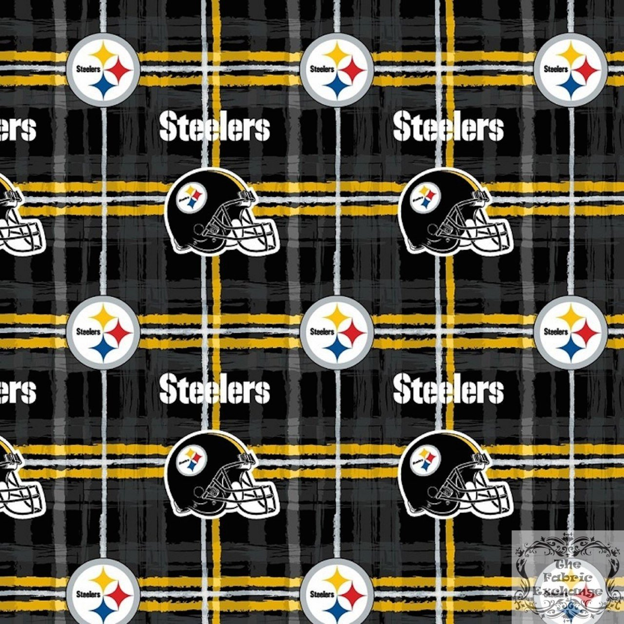 FT-NFL Flannel L6431-D Pitts Steelers