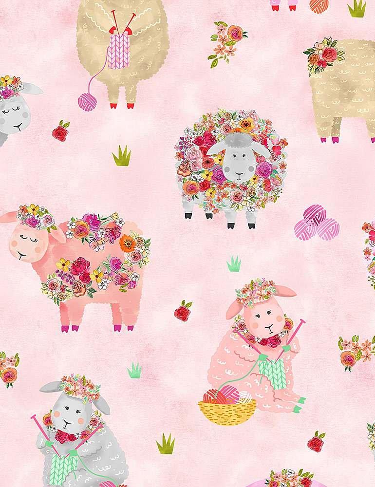 TT-Gail C1090 Pink - Knitting Sheep