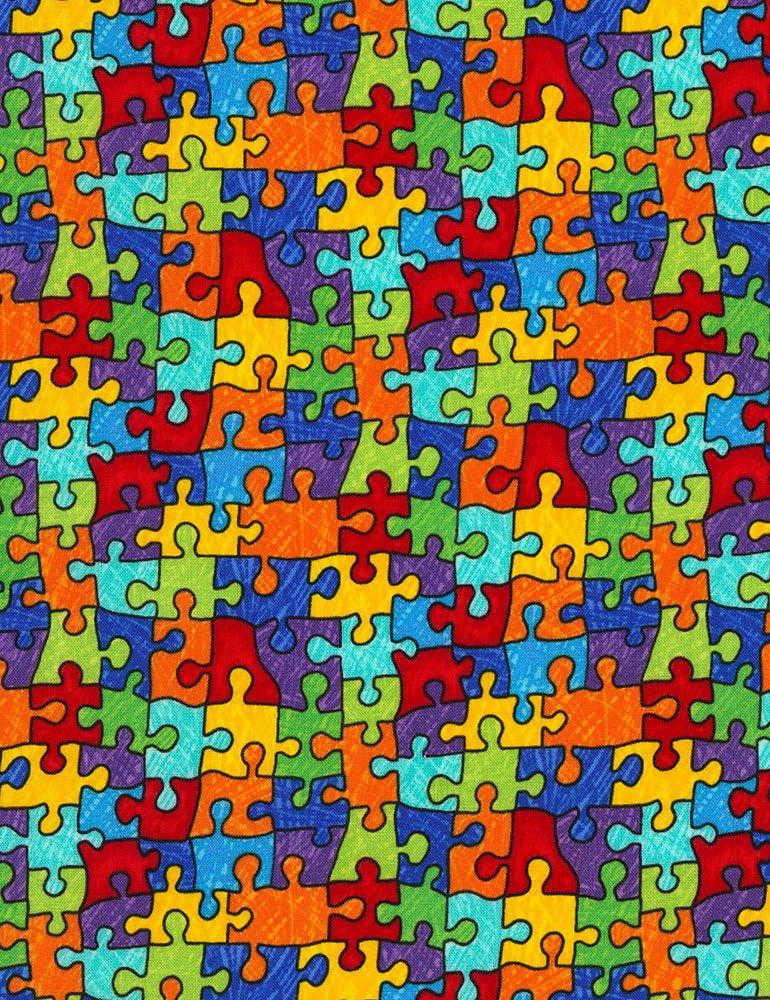 TT-Gail C6344 Puzzle Pieces - Bright
