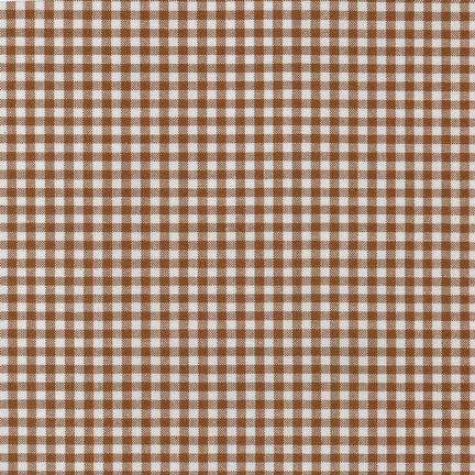 RK-Gingham 1/8th Checks P-5689-167 Chocolate