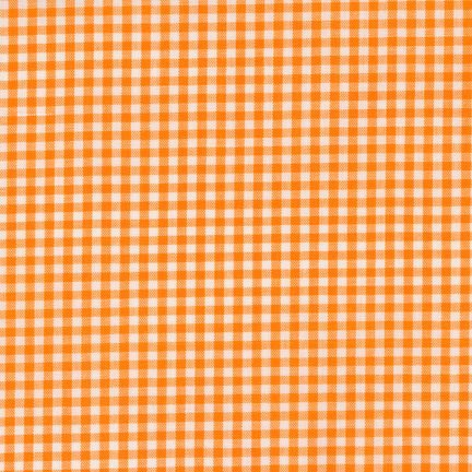 RK-Gingham 1/8th Checks  P-5689-9 Orange