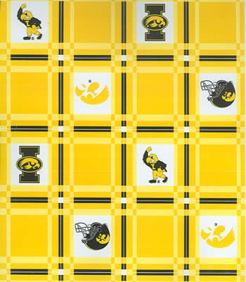 Iowa  Tablecloth - Tailgate Fabric