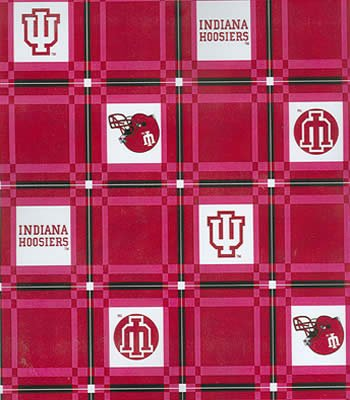 Indiana  Tablecloth - Tailgate Fabric
