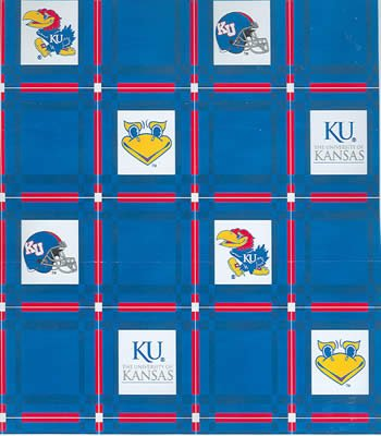 Kansas  Tablecloth - Tailgate Fabric