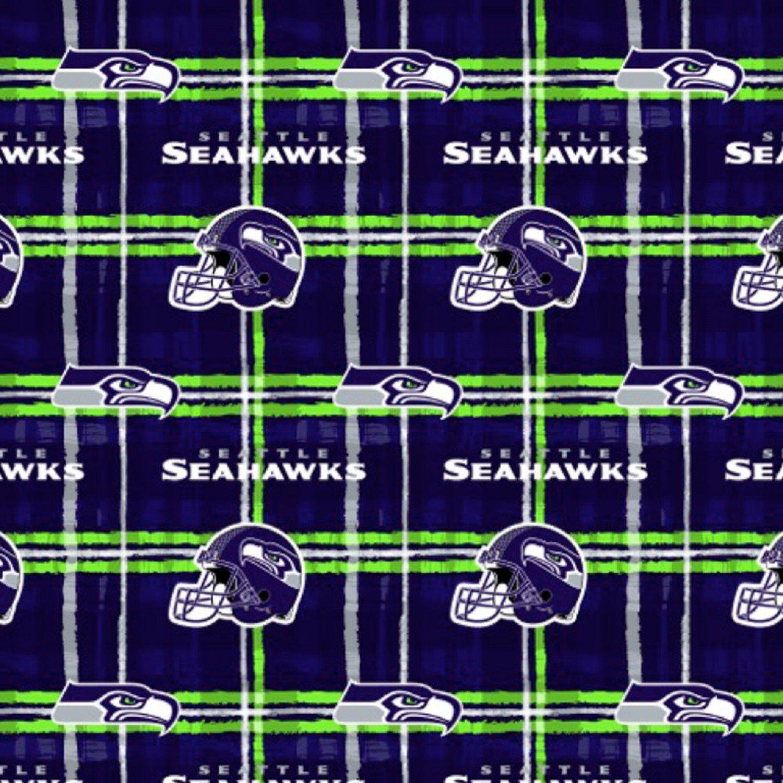 FT-NFL Flannel L6723 D Seattle Seahawks