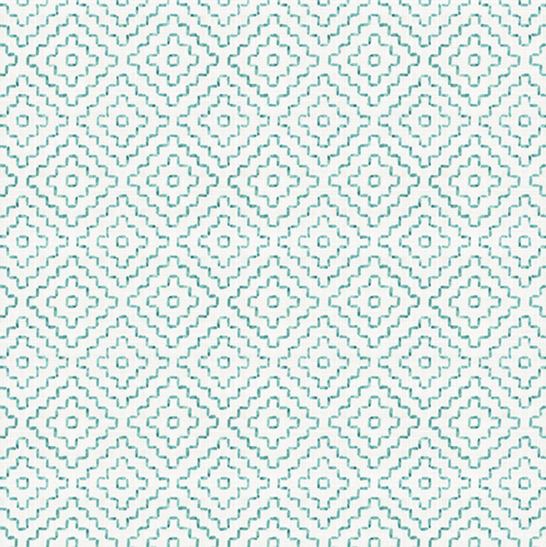 DT-Cactus Verde LA-0179-8C-8 White/Aqua - Cactus Diamond