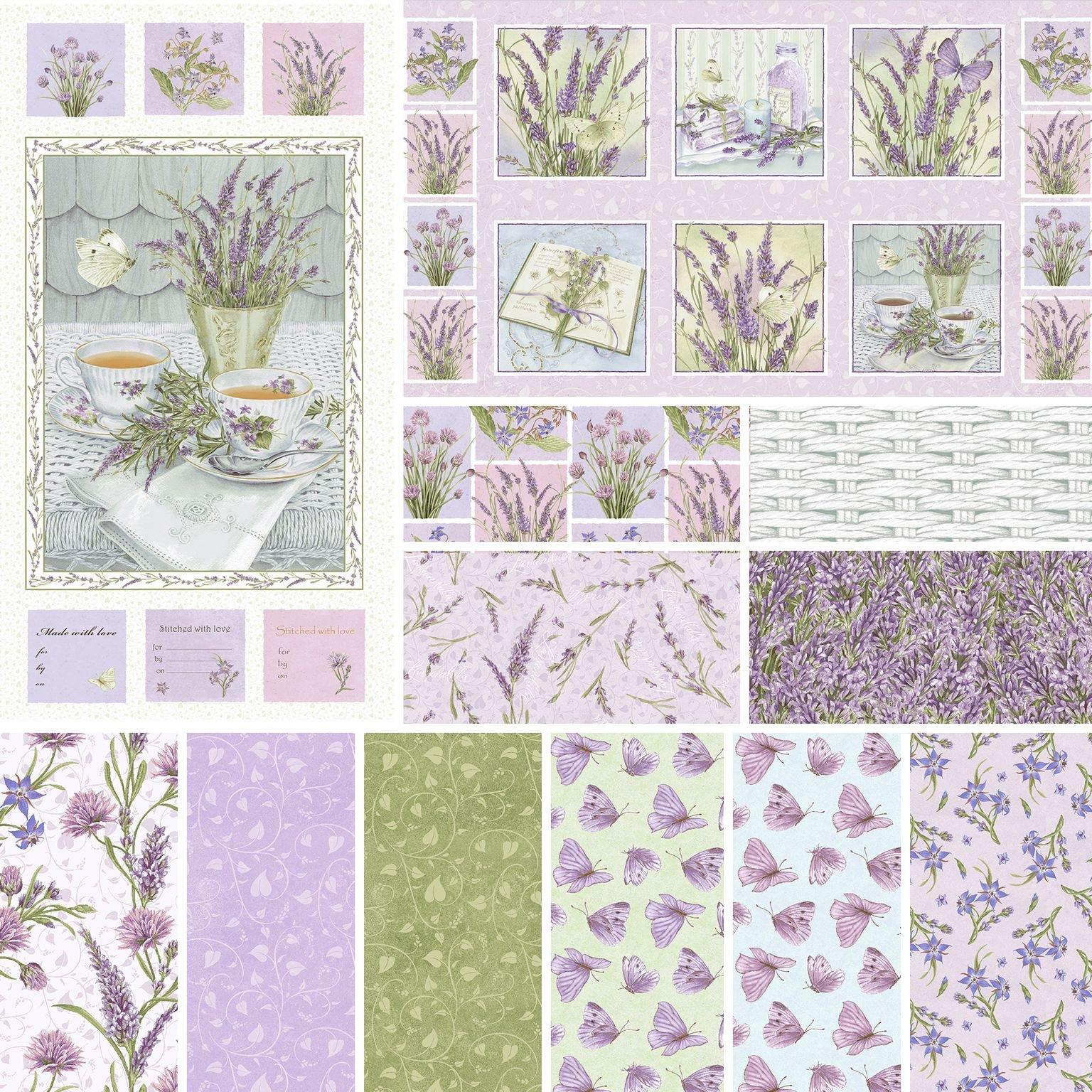 HG-Lavender Garden 12 Yard Case Pack