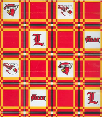 Louisville  Tablecloth - Tailgate Fabric