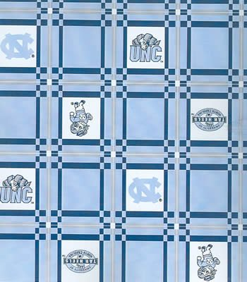 North Carolina  Tablecloth - Tailgate Fabric