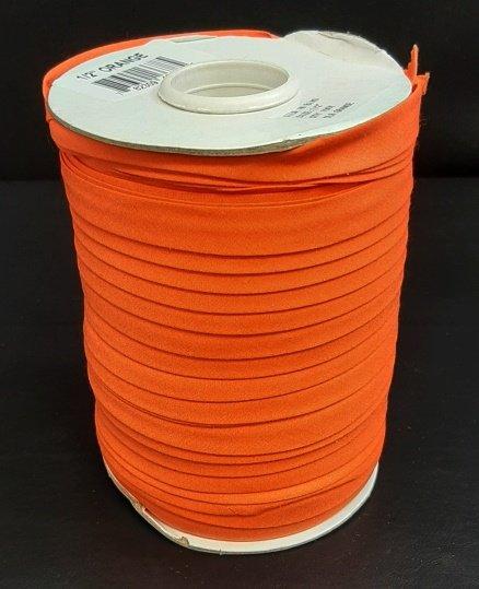 PROMO* 1/2 Bias Binding - Orange