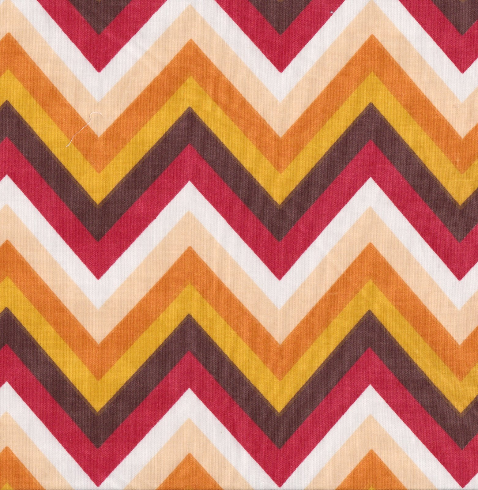 PROMO* FT-Chevron Prints - Orange & Red