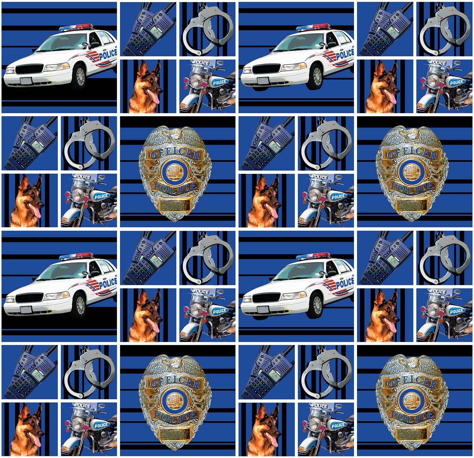 Sykel-Police Cotton 1115 Police Cotton/Block
