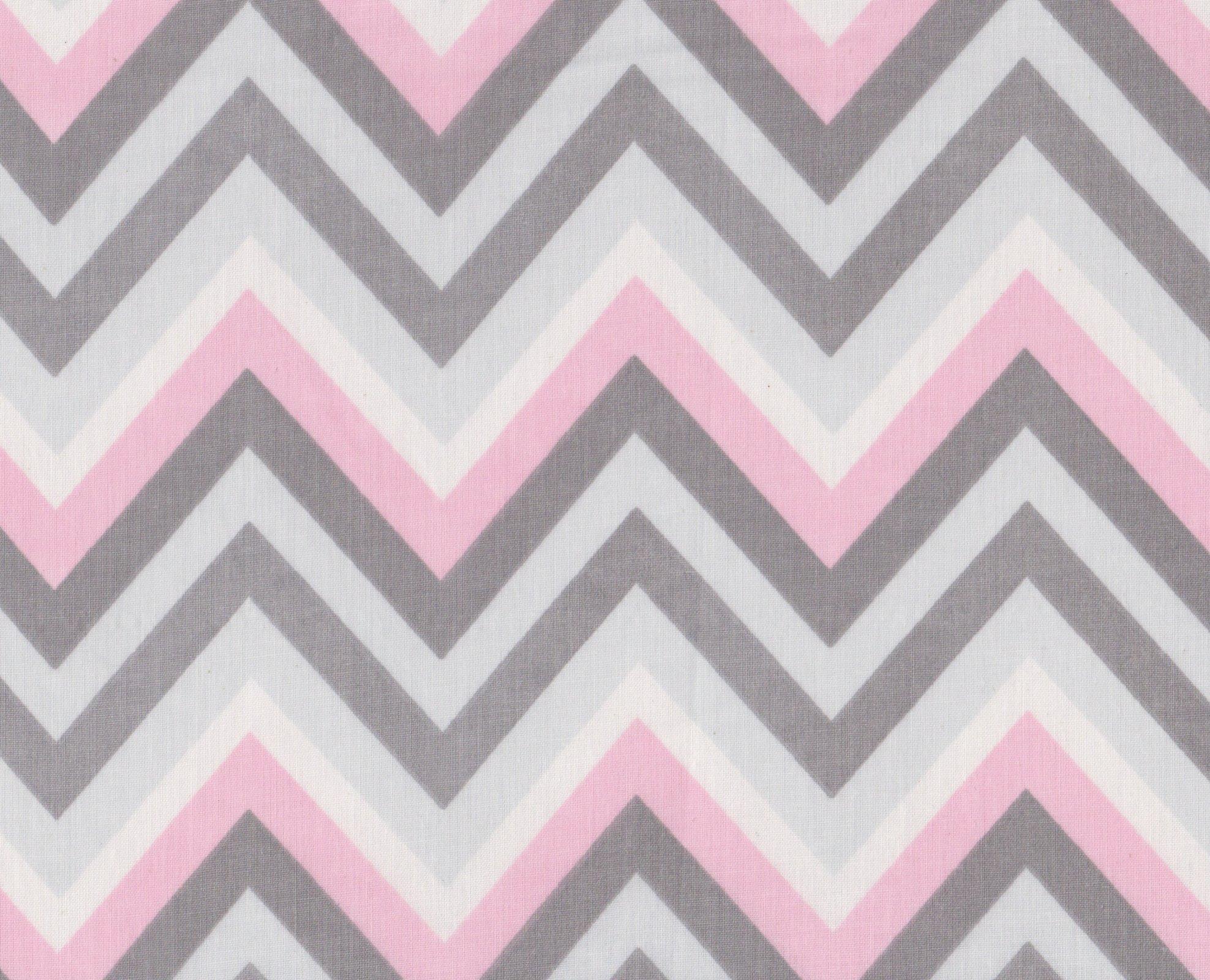 PROMO* FT-Chevron Prints - Pink & Grey