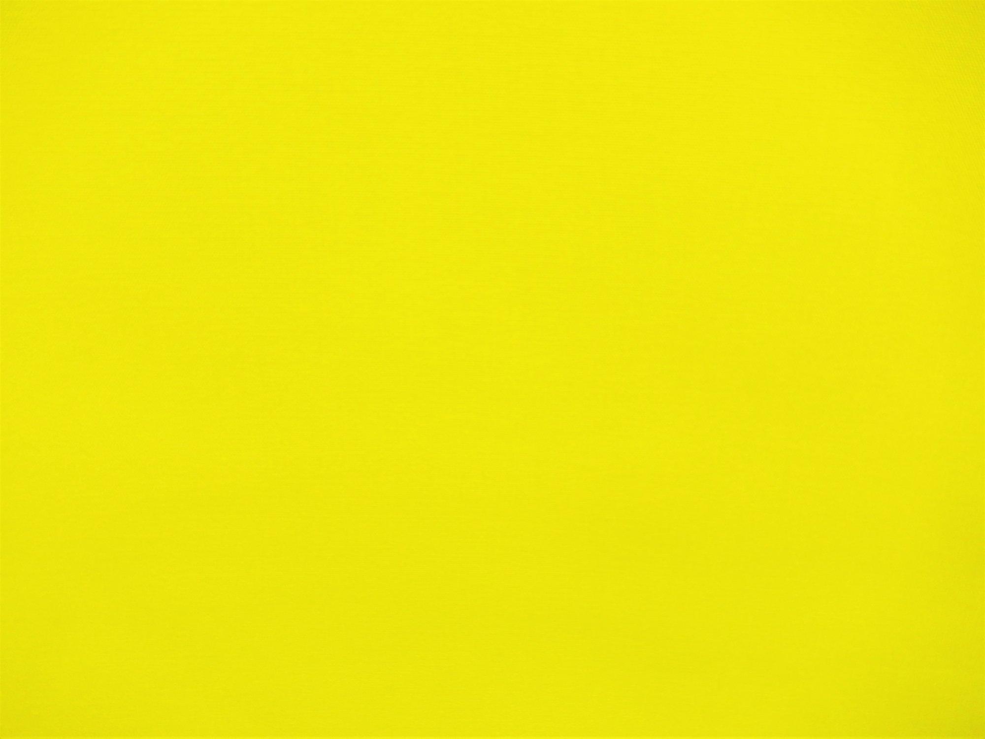 Polyester Poplin Neon Yellow