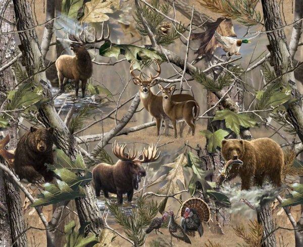 Sykel-Realtree Fleece 1417 Hidden Animals