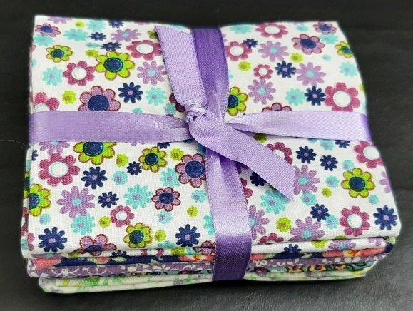 PROMO* FE-Fabric Palette Fat Quarter Bundles - Ditsy Floral Bundle