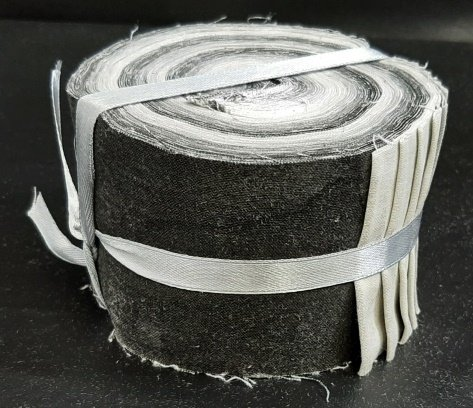 PROMO* FE-Fabric Palette Jelly Rolls - Grey Texture Roll