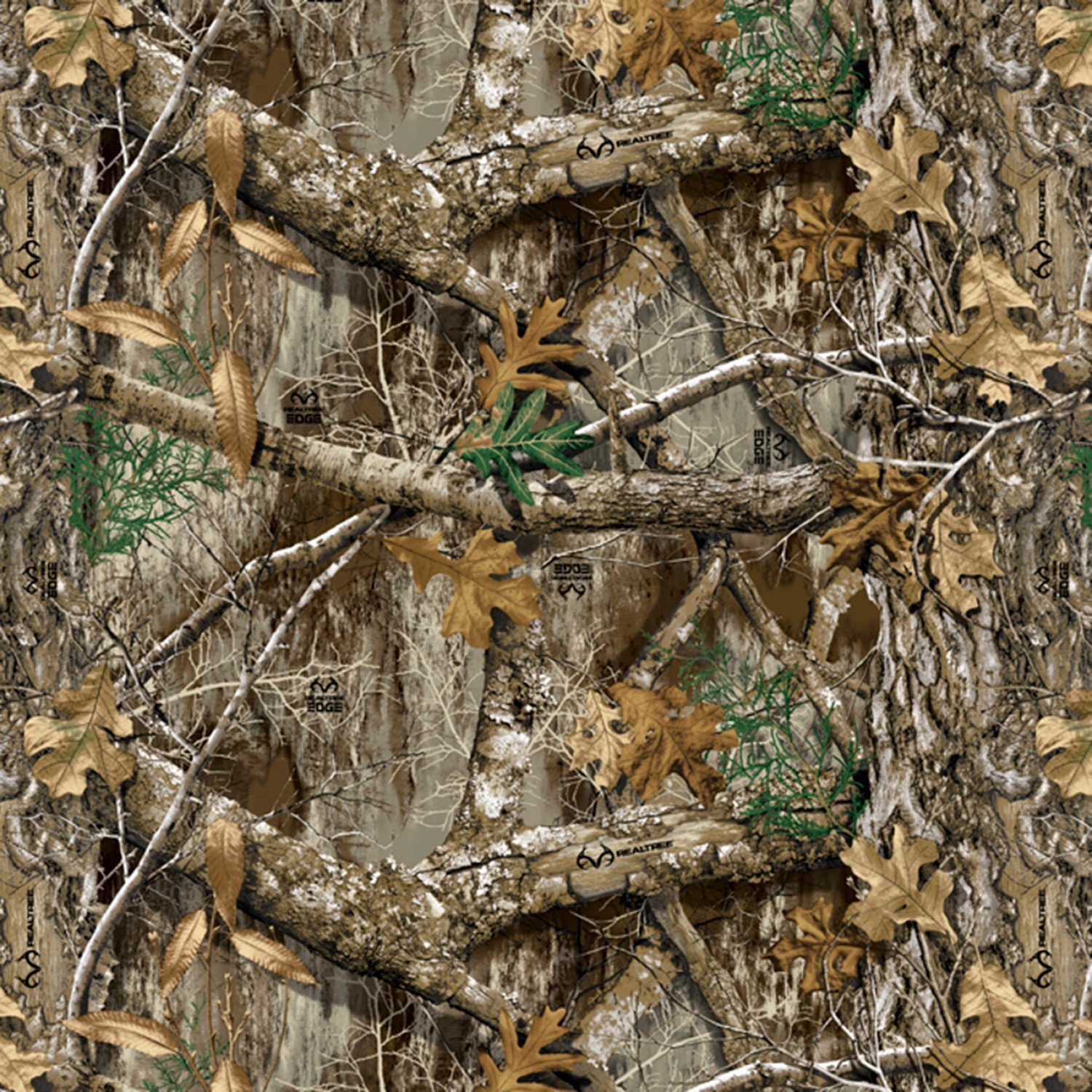 DT-Real Tree Camouflage Fleece RT-0002-MA-1 Multi - Edge 2 Camo Fleece