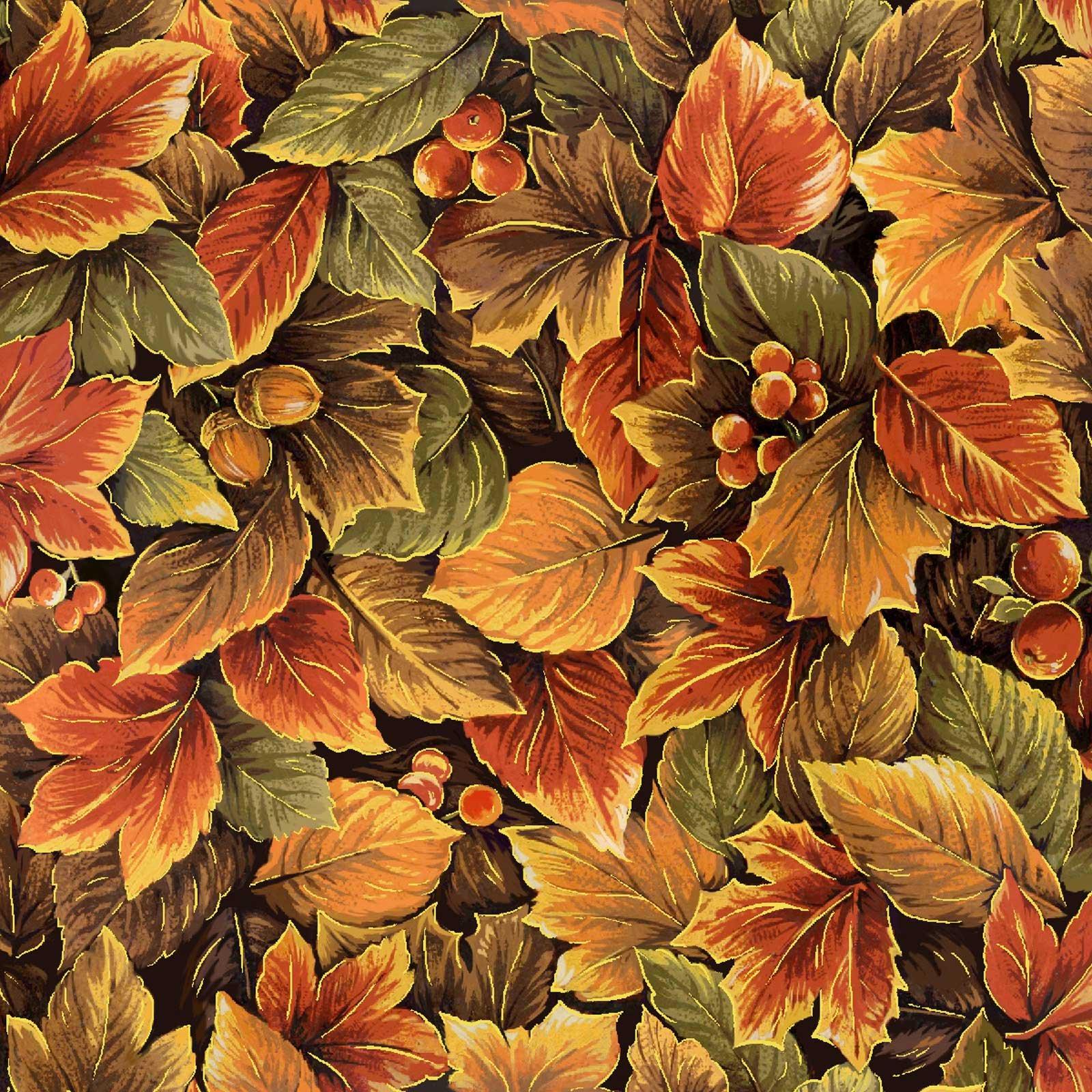 OF-Sentimental 60-18101 Multi Fall Leaves