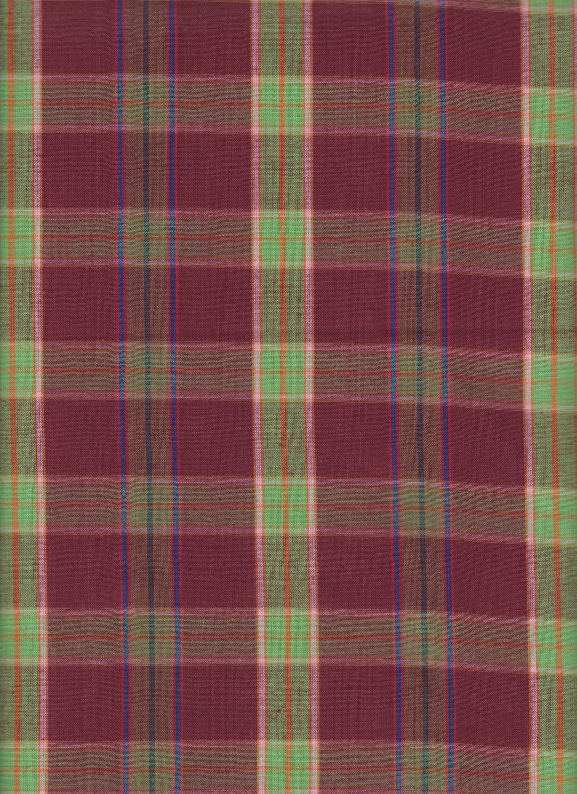 PROMO* TC-Santa Fe Plaids SF-314 Wine - Plaid