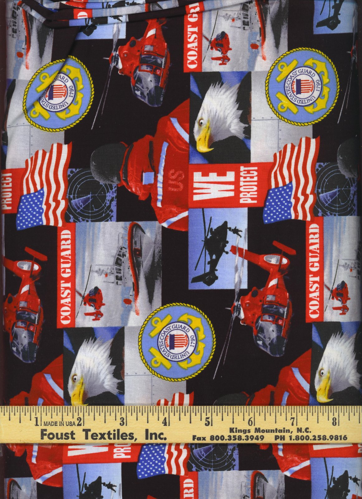 Sykel-US Military Cotton 021-CG  Coast Guard