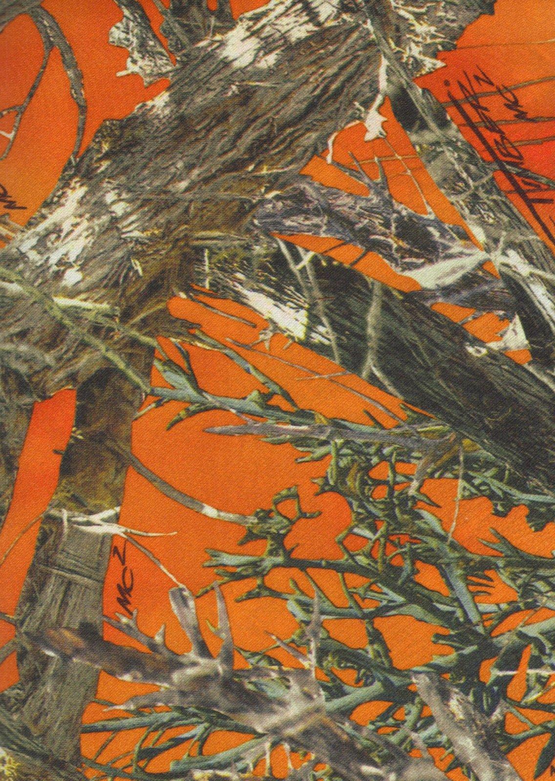 True Timber Satin Camo 1009 Blaze MC2