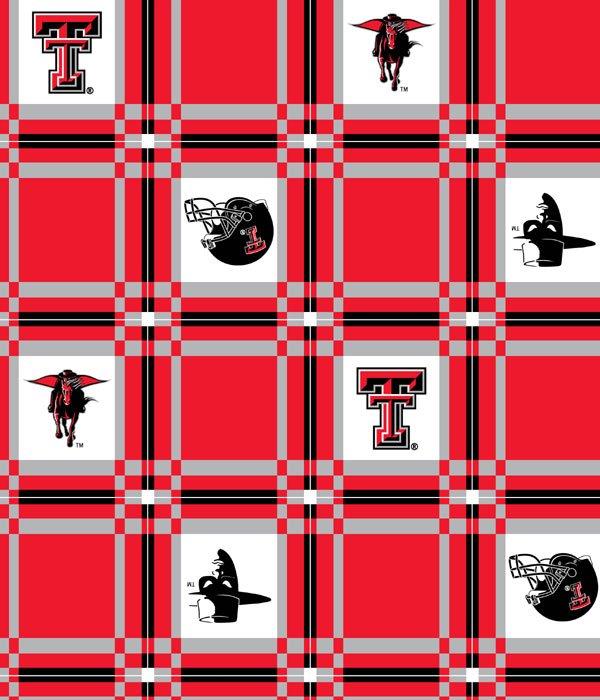 Texas Tech Tablecloth TTU