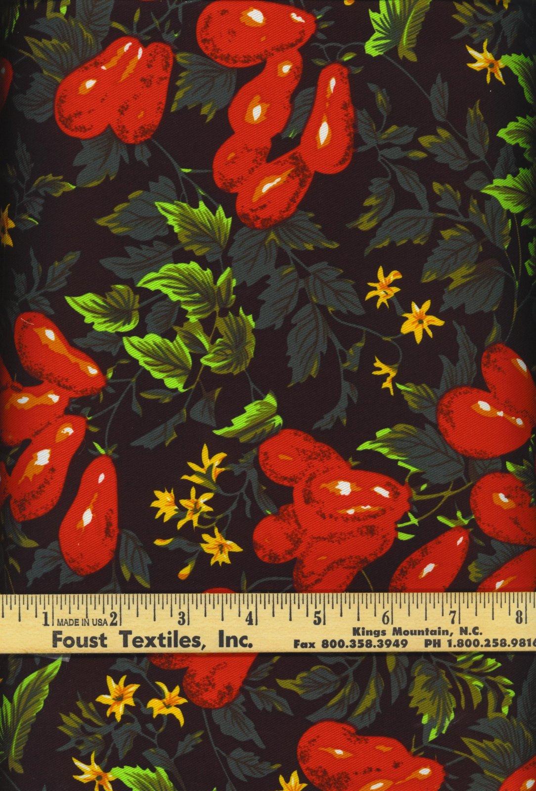 PROMO* FT-60 Twill Print-Roma Tomato