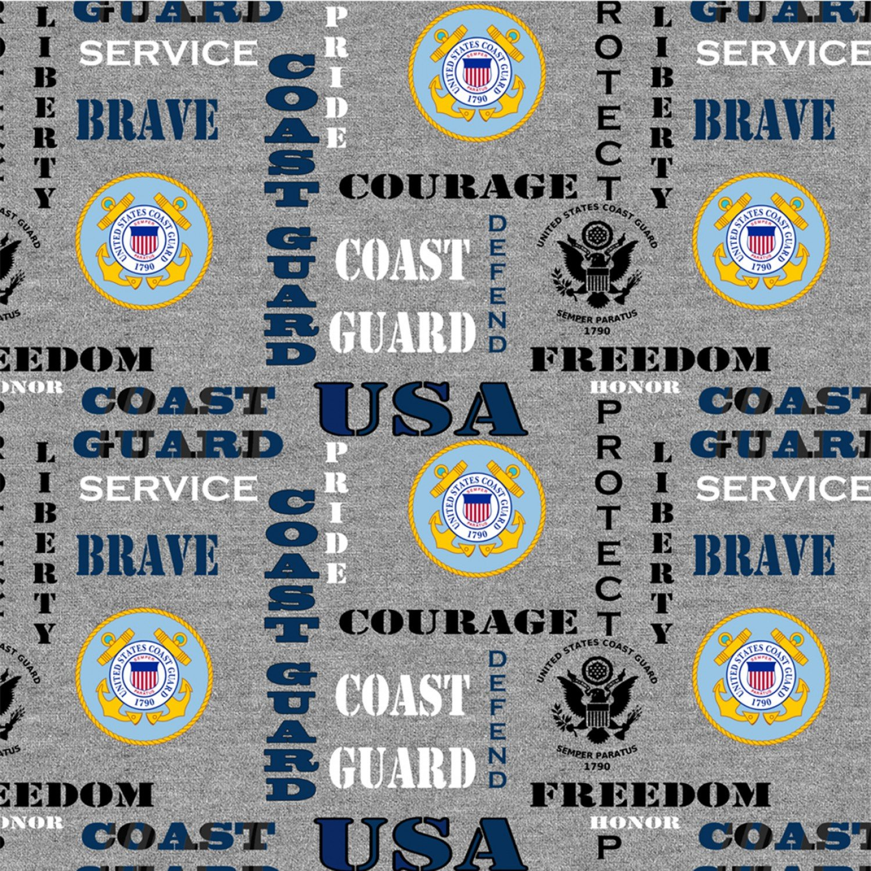 Sykel-Military Cotton 1181CG Coast Guard Heather Print