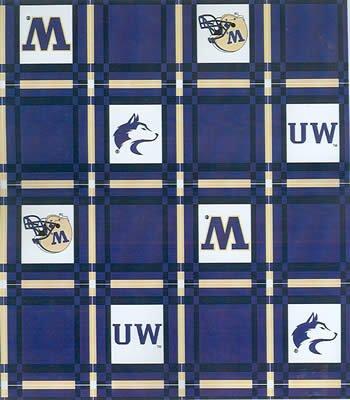 Washington Tablecloth  -  Tailgate Fabric
