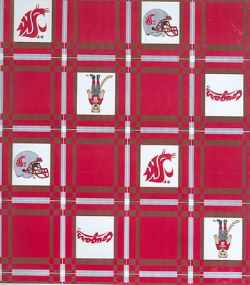 Washington State Tablecloth  -  Tailgate Fabric