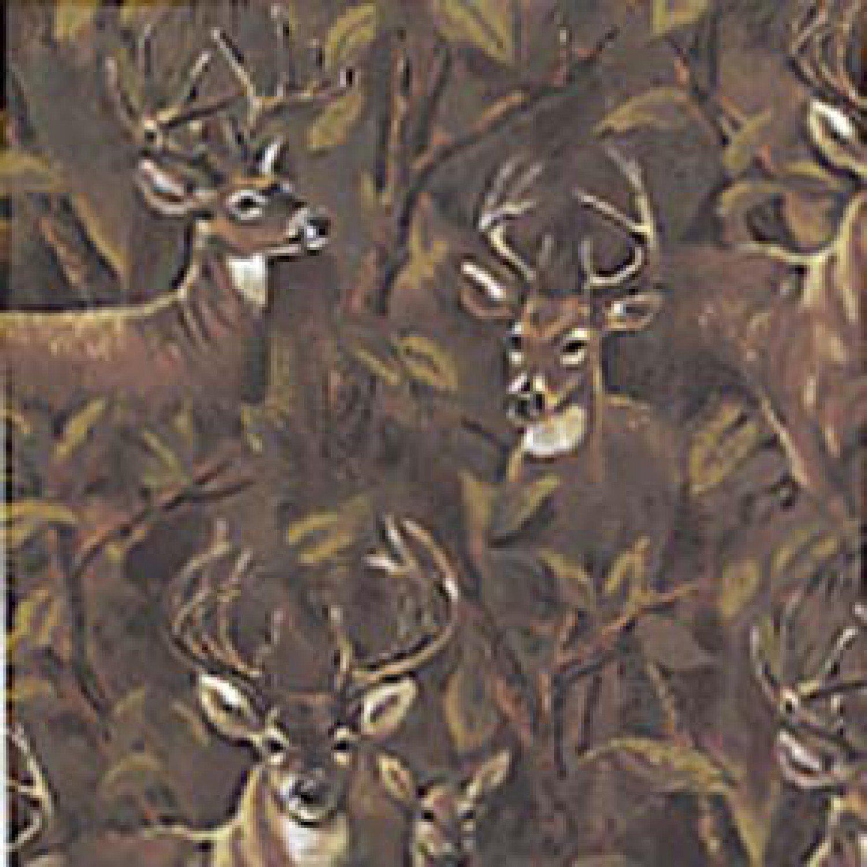 BT-Winterfleece 24524-X Deer in the Forest