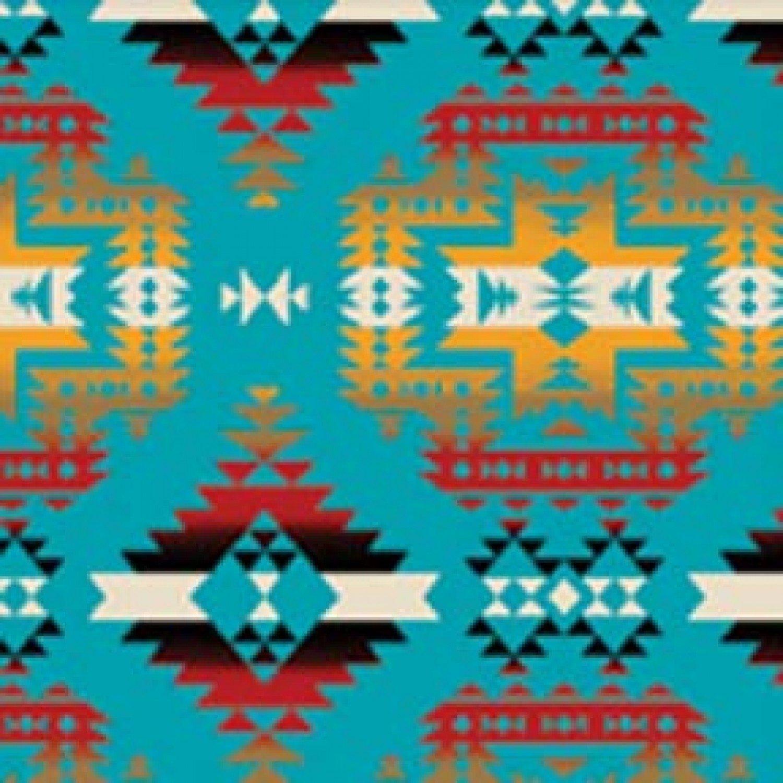 BT-Winterfleece 31433-4 Turquoise Canyon