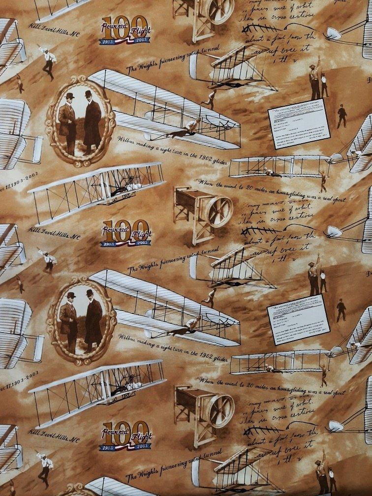 PROMO* TT-Wright Brothers Vintage Print