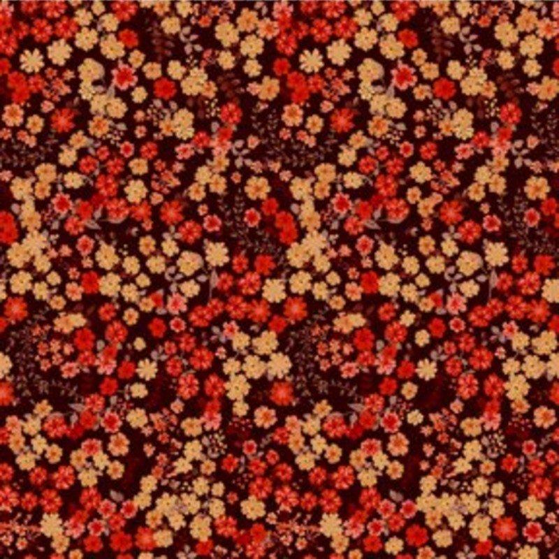 SALE Garden Delights III - Petite Posies Red 10GSG-1