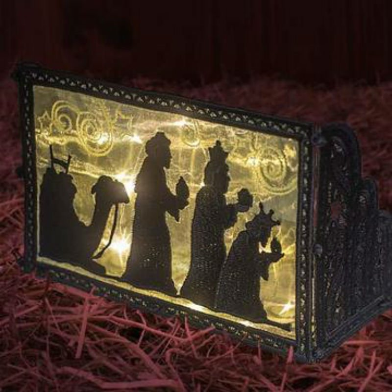 DG - Freestanding Nativity Light Boxes #12726