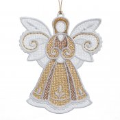Gifts of Gold Ornaments #12644-19 Flat Angel