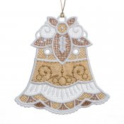 Gifts of Gold Ornaments #12644-20 Flat Bell