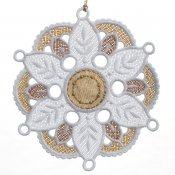 Gifts of Gold Ornaments Flat Medallion #12644-25