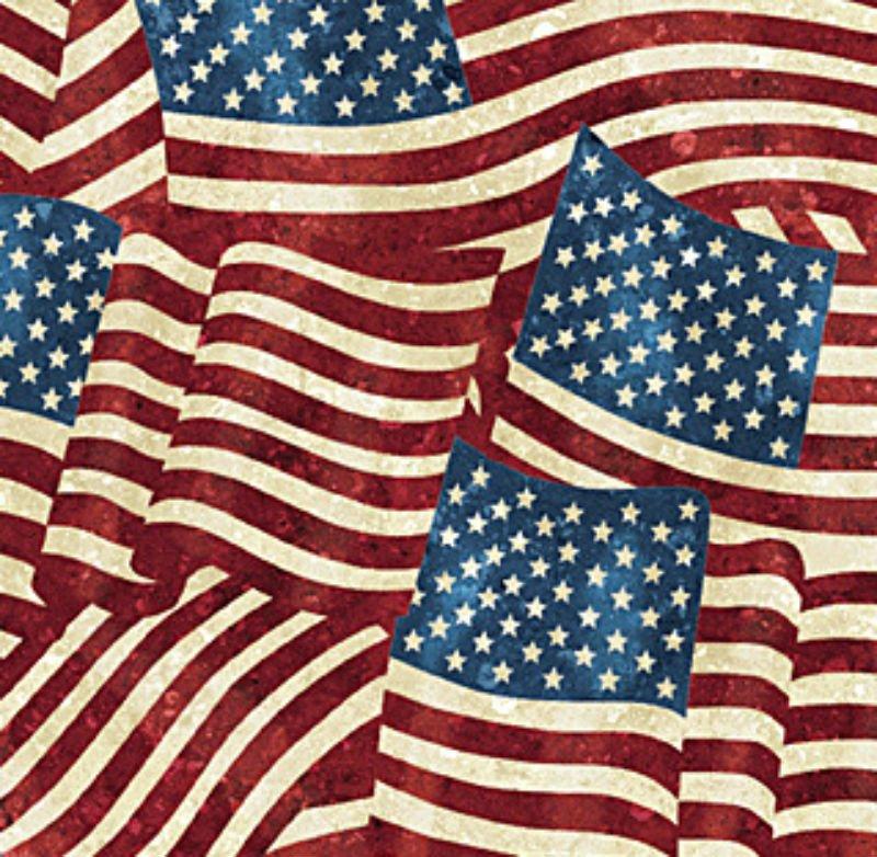 Stonehenge Stars and Stripes 2 - American Flags N 20158-49