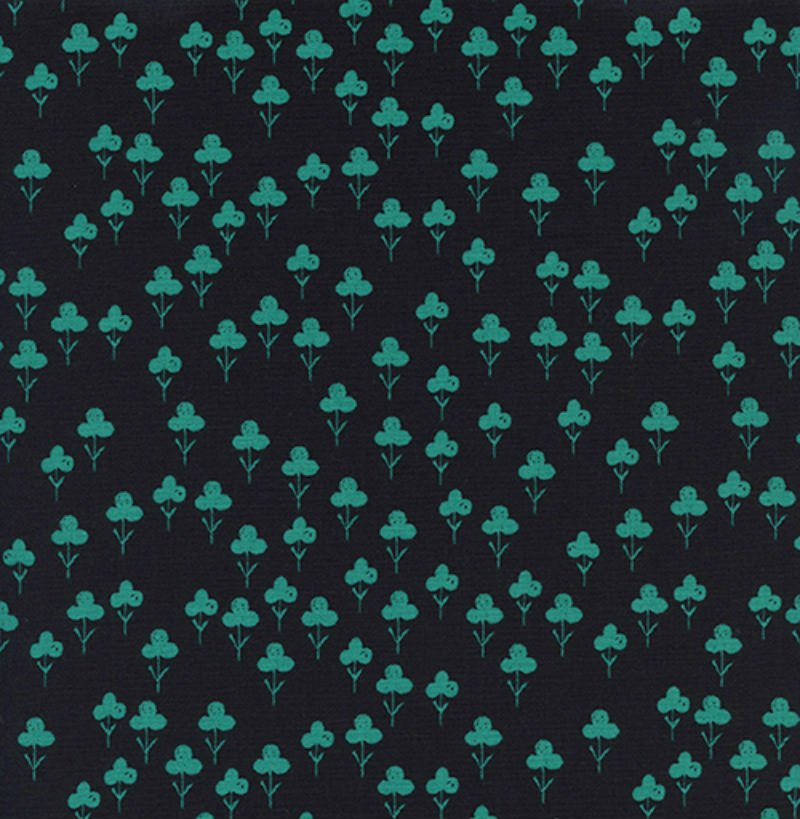 Front Yard - Clovers Teal 2073-2