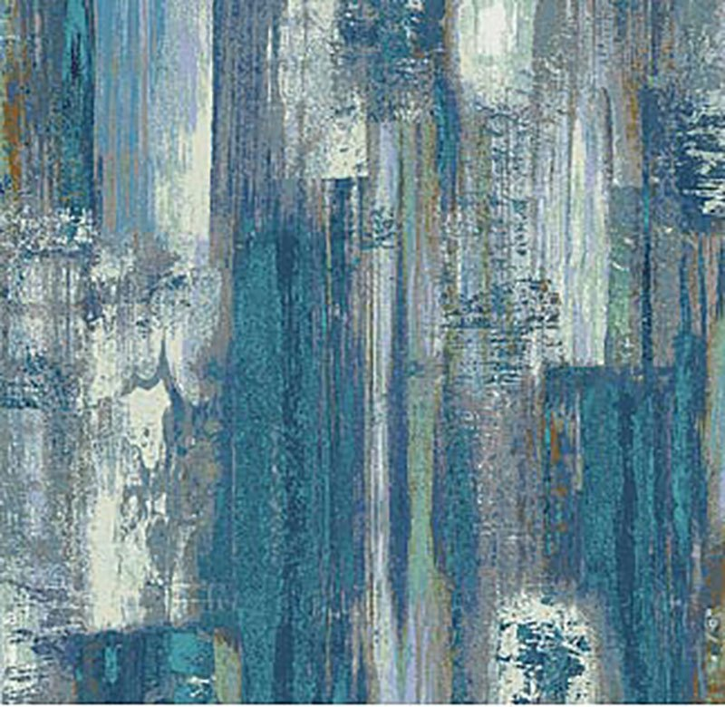 Reflections - Brush Strokes Blue 22950-44