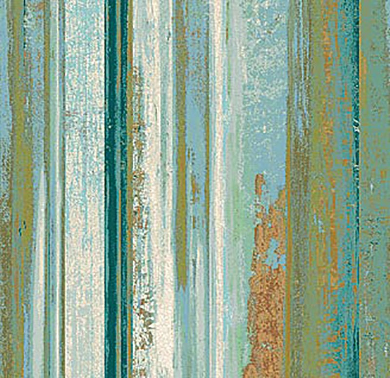 Reflections - Stripe Green 22953-66