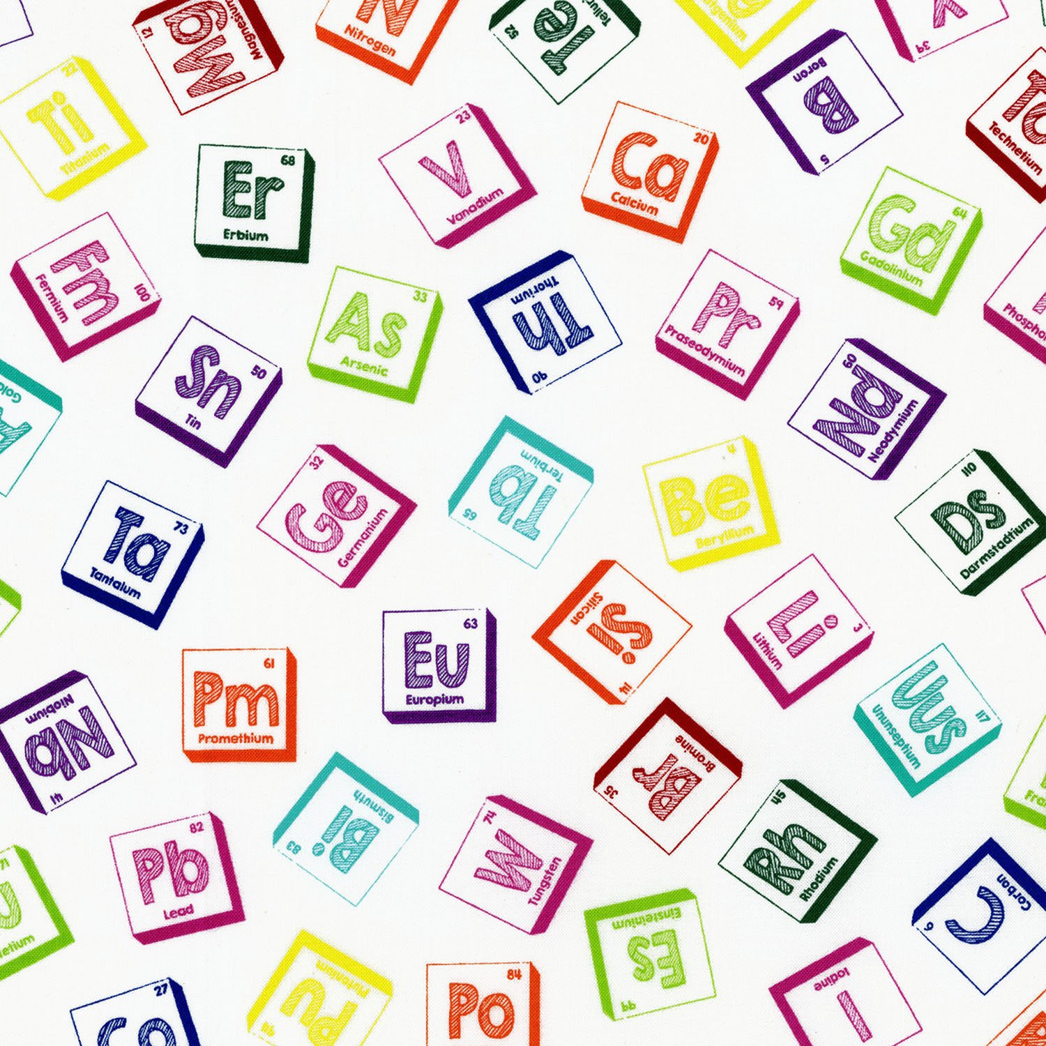 Geekery periodic table scattered on white 2869 001 28690011608 geekery periodic table scattered on white 2869 001 urtaz Choice Image
