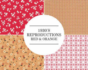 30 Reproductions - Red & Orange