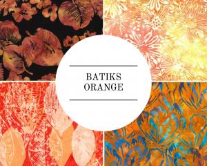 Batiks - Orange