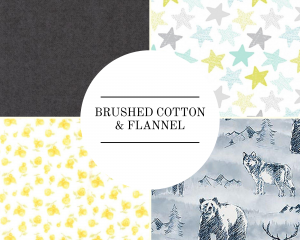 Brushed Cotton & Flannel