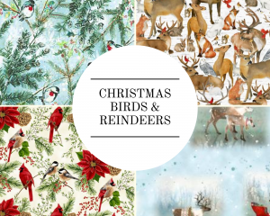 Christmas - Birds & Reindeers