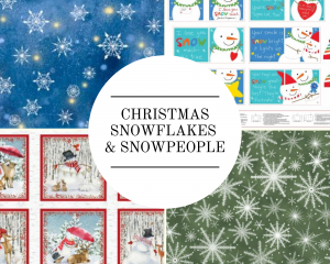 Christmas - Snowflakes & Snowpeople